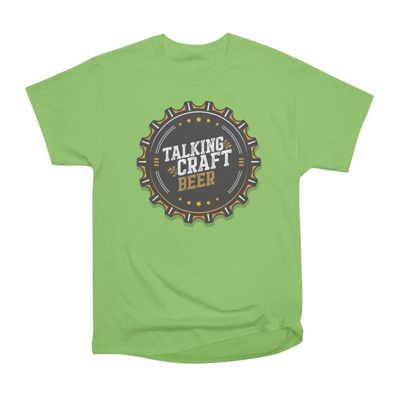 Talking Craft Beer Logo Men's Heavyweight T-Shirt by Talking Craft Beer Shop