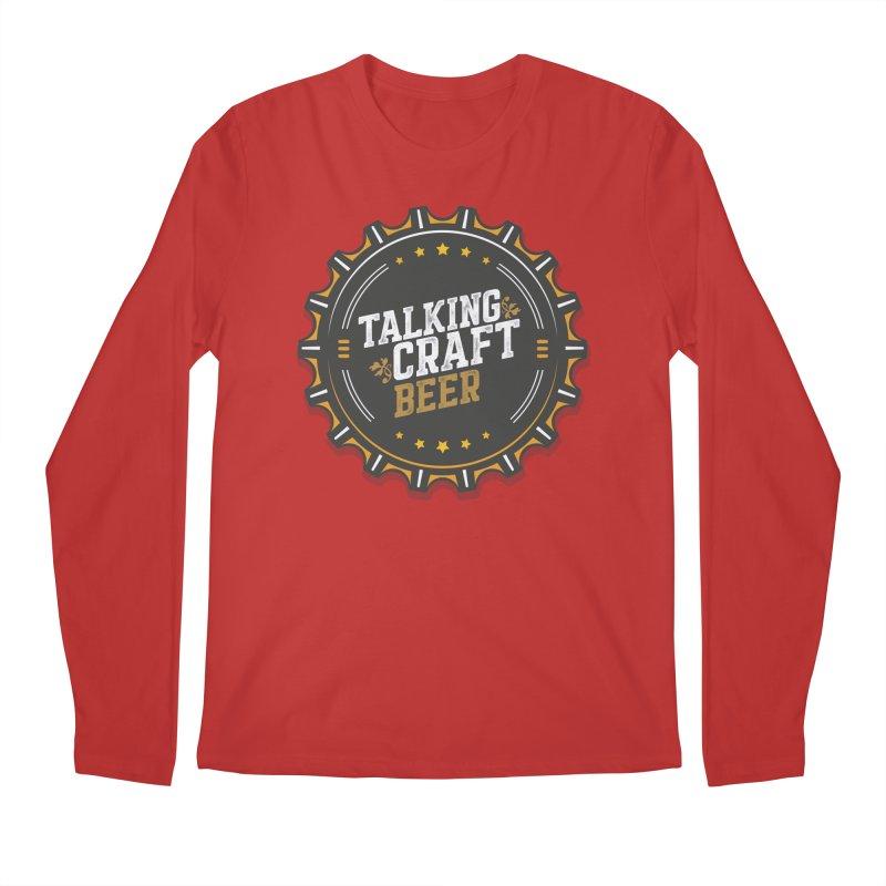 Talking Craft Beer Logo Men's Regular Longsleeve T-Shirt by Talking Craft Beer Shop