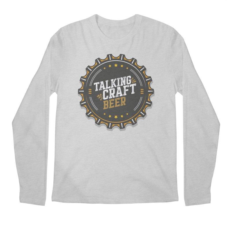 Talking Craft Beer Logo Men's Longsleeve T-Shirt by Talking Craft Beer Shop