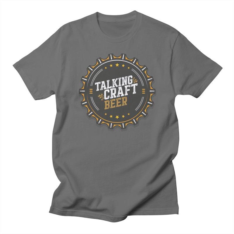 Talking Craft Beer Logo Men's T-Shirt by Talking Craft Beer Shop