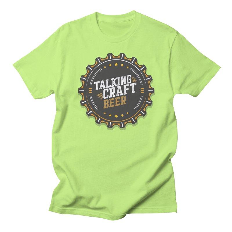 Talking Craft Beer Logo Men's Regular T-Shirt by Talking Craft Beer Shop