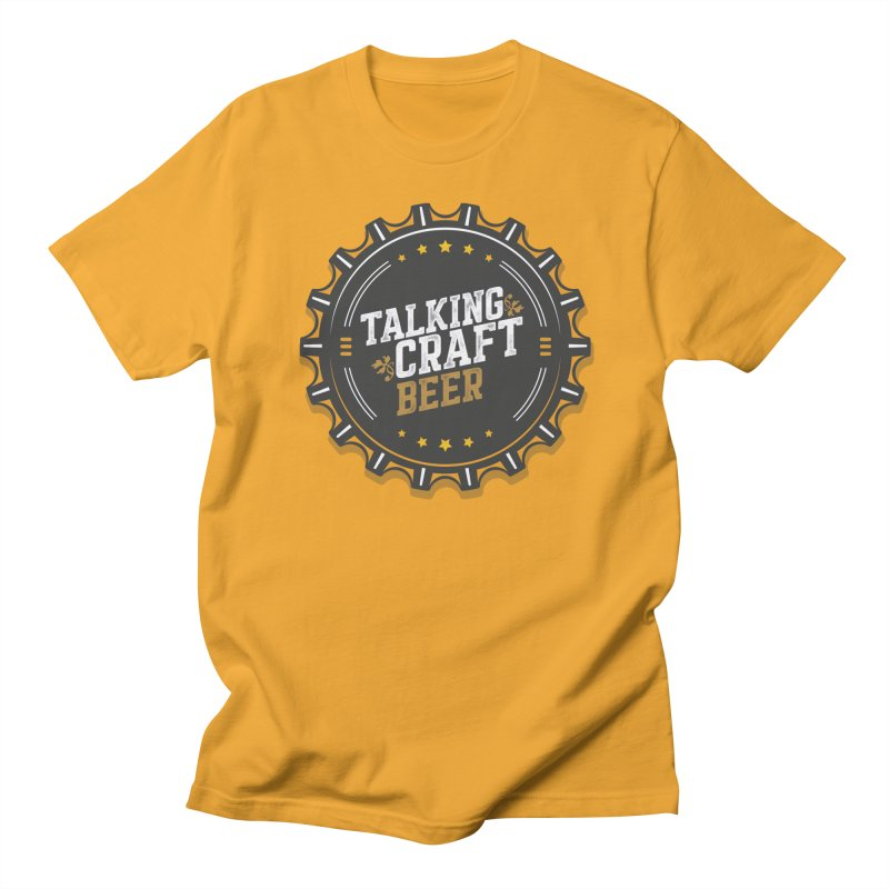 Talking Craft Beer Logo Men's Regular T-Shirt by Talking Craft Beer Shop