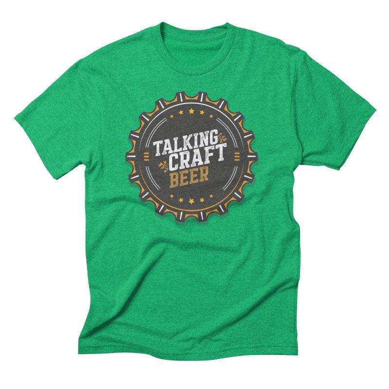 Talking Craft Beer Logo Men's Triblend T-Shirt by Talking Craft Beer Shop