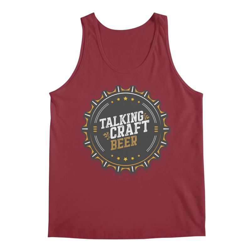 Talking Craft Beer Logo Men's Tank by Talking Craft Beer Shop