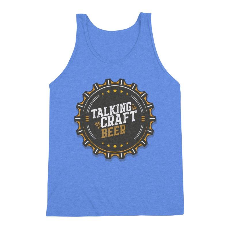 Talking Craft Beer Logo Men's Triblend Tank by Talking Craft Beer Shop