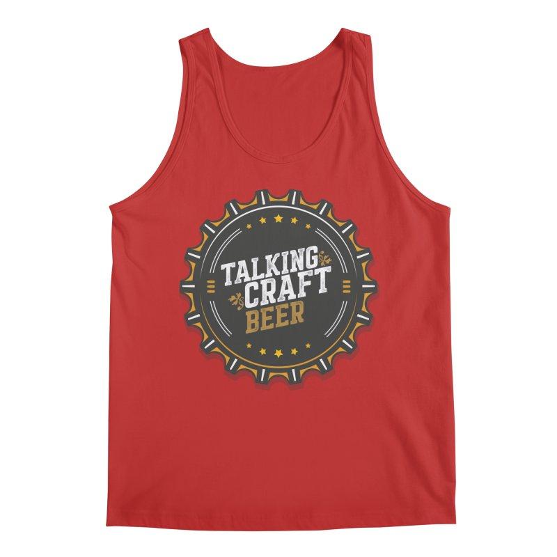Talking Craft Beer Logo Men's Regular Tank by Talking Craft Beer Shop