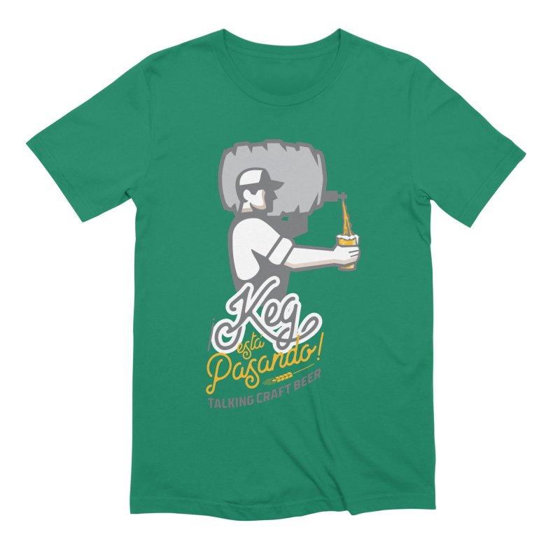 Kept keg Pour Logo Men's T-Shirt by Talking Craft Beer Shop