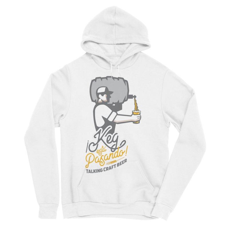 Kept keg Pour Logo Women's Sponge Fleece Pullover Hoody by Talking Craft Beer Shop