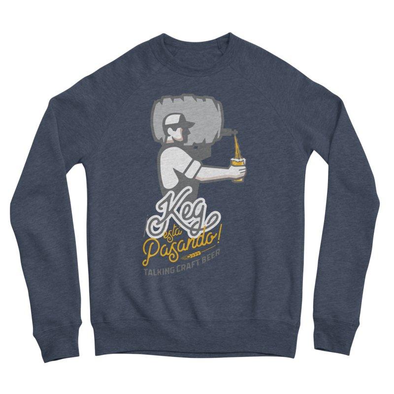 Kept keg Pour Logo Women's Sponge Fleece Sweatshirt by Talking Craft Beer Shop
