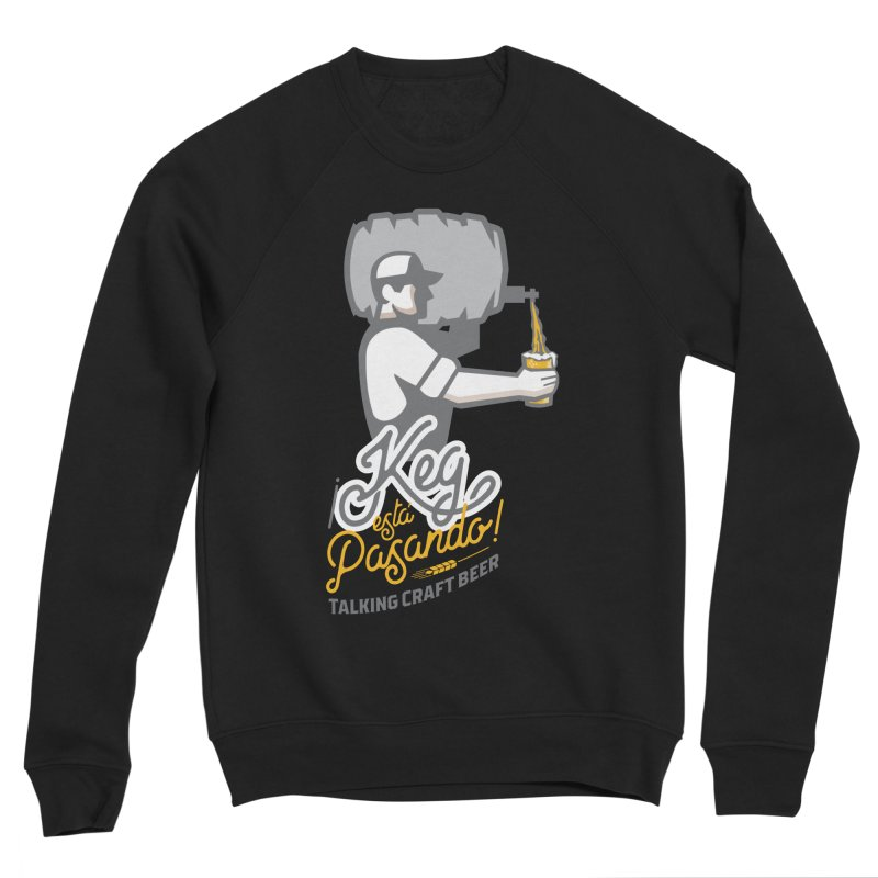 Kept keg Pour Logo Women's Sponge Fleece Sweatshirt by Talking Craft Beer Shop
