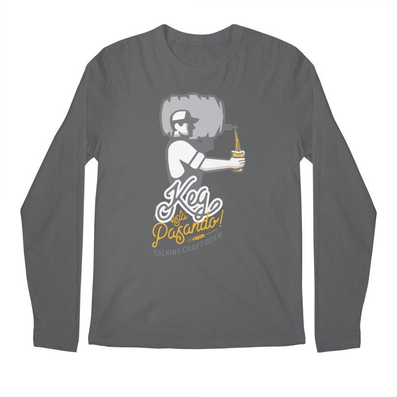 Kept keg Pour Logo Men's Longsleeve T-Shirt by Talking Craft Beer Shop