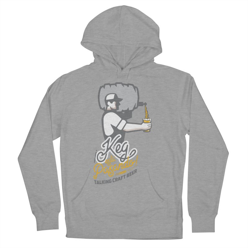 Kept keg Pour Logo Women's French Terry Pullover Hoody by Talking Craft Beer Shop