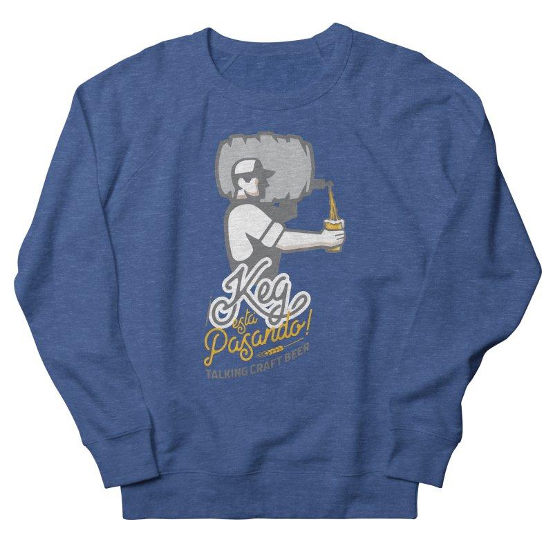 Kept keg Pour Logo Men's French Terry Sweatshirt by Talking Craft Beer Shop