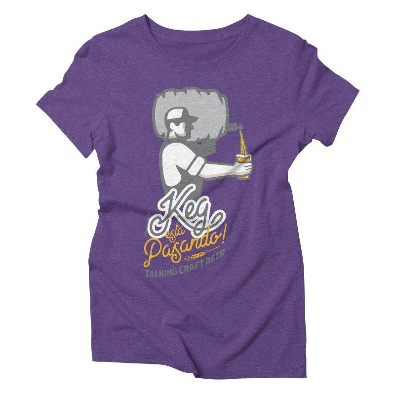 Kept keg Pour Logo Women's Triblend T-Shirt by Talking Craft Beer Shop