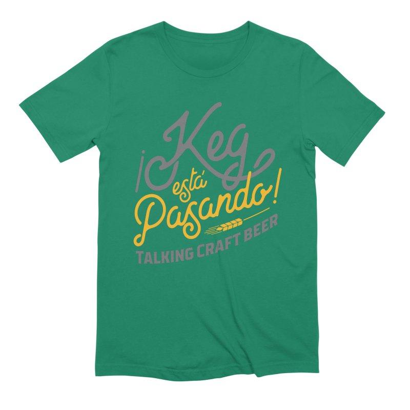 Kept Tagline (Grey) Men's T-Shirt by Talking Craft Beer Shop