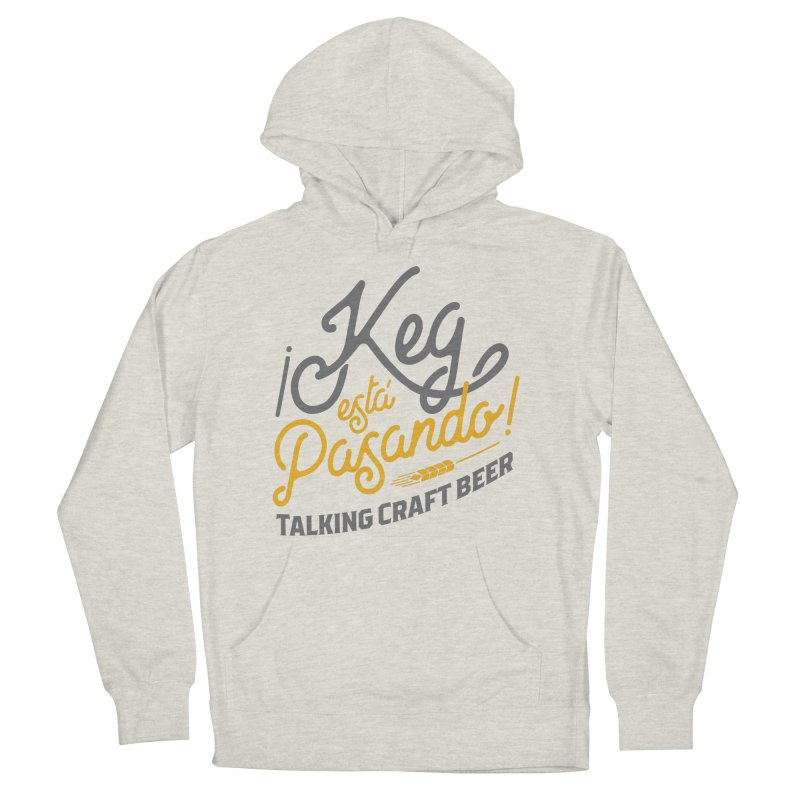 Kept Tagline (Grey) Women's French Terry Pullover Hoody by Talking Craft Beer Shop