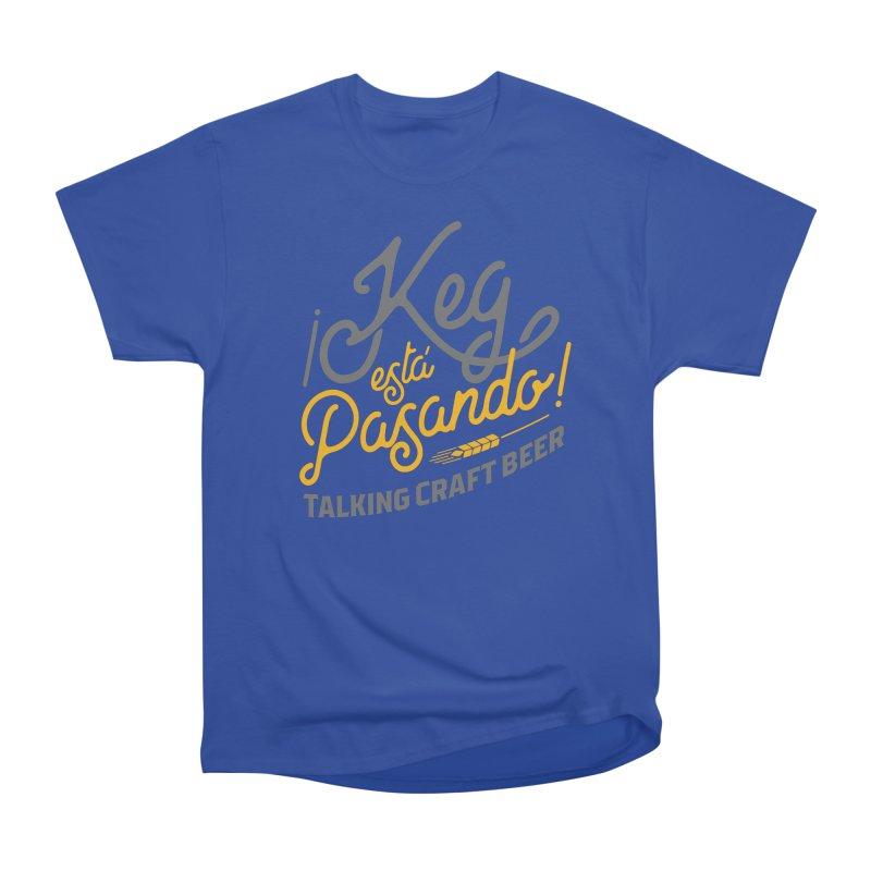 Kept Tagline (Grey) Men's Heavyweight T-Shirt by Talking Craft Beer Shop