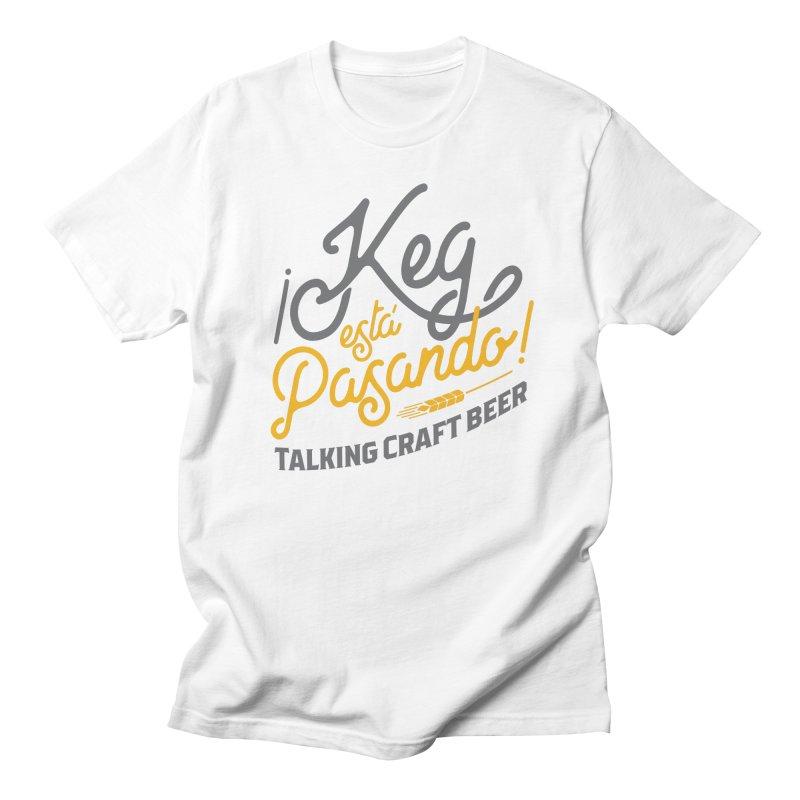 Kept Tagline (Grey) Women's Regular Unisex T-Shirt by Talking Craft Beer Shop