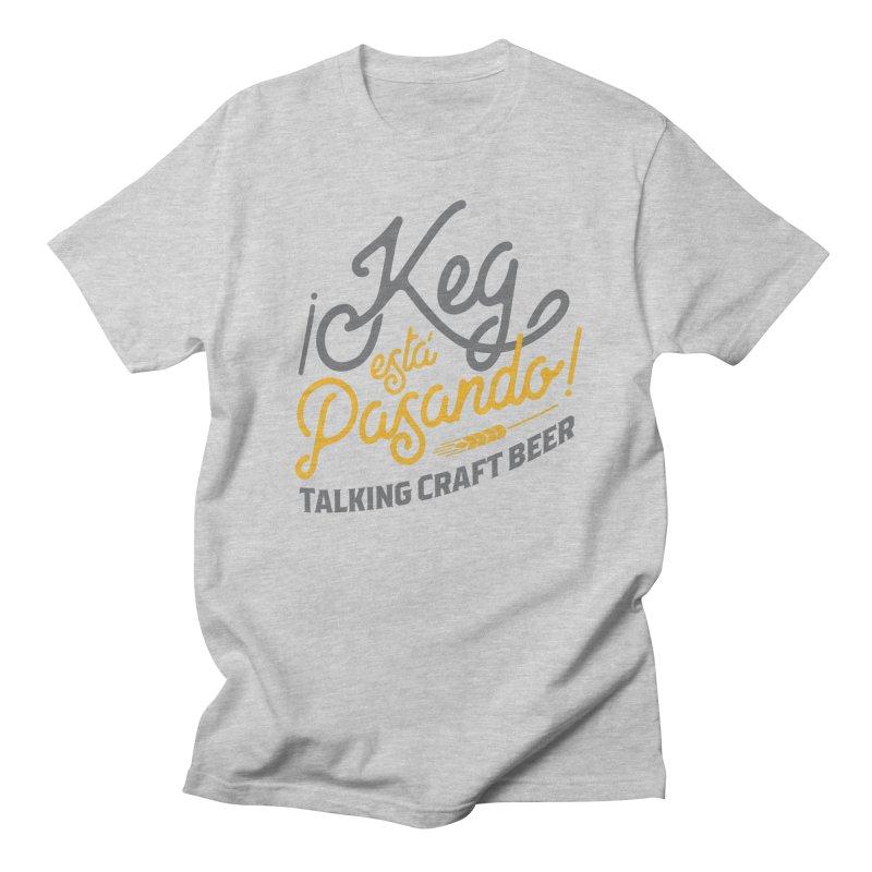 Kept Tagline (Grey) Men's Regular T-Shirt by Talking Craft Beer Shop