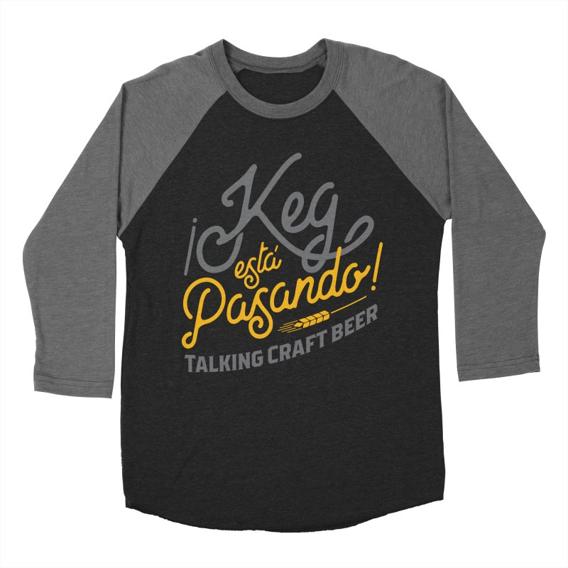 Kept Tagline (Grey) Women's Baseball Triblend Longsleeve T-Shirt by Talking Craft Beer Shop