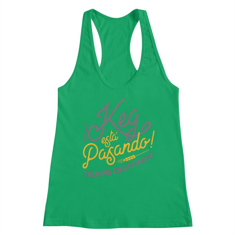 Kept Tagline (Grey) Women's Tank by Talking Craft Beer Shop