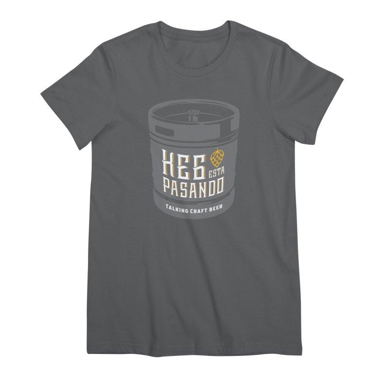 Kept keg Tagline Women's Premium T-Shirt by Talking Craft Beer Shop