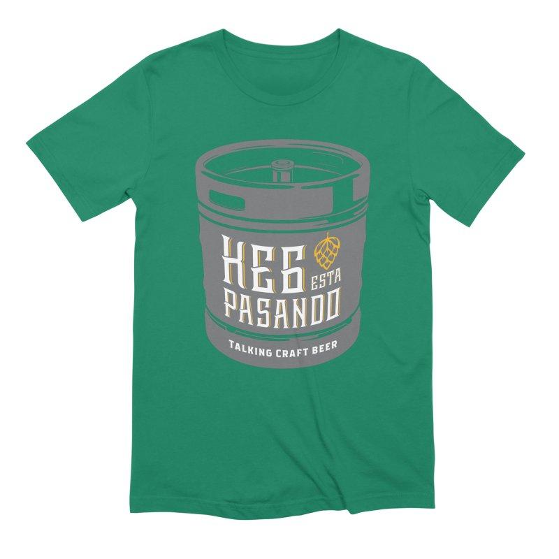 Kept keg Tagline Men's Extra Soft T-Shirt by Talking Craft Beer Shop