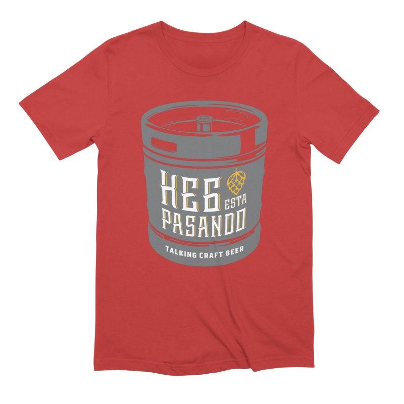 Kept keg Tagline Men's T-Shirt by Talking Craft Beer Shop
