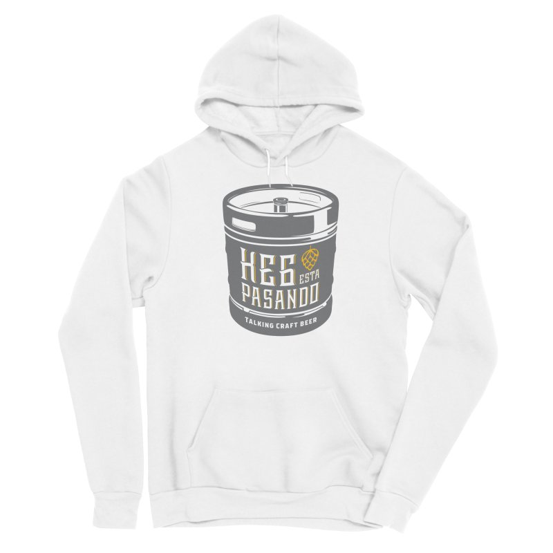Kept keg Tagline Women's Sponge Fleece Pullover Hoody by Talking Craft Beer Shop