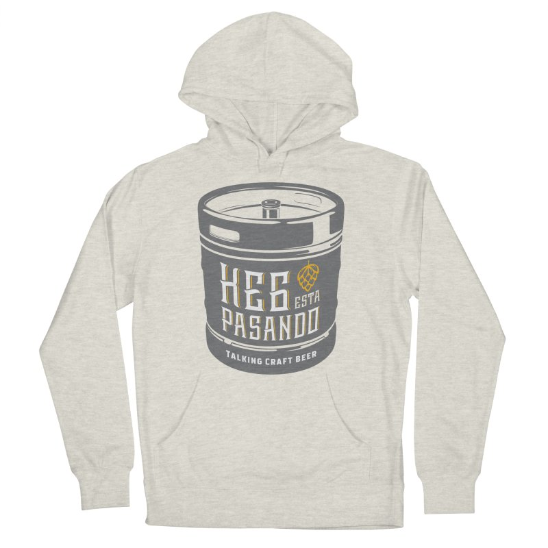 Kept keg Tagline Women's French Terry Pullover Hoody by Talking Craft Beer Shop