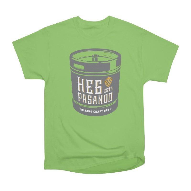 Kept keg Tagline Men's Heavyweight T-Shirt by Talking Craft Beer Shop