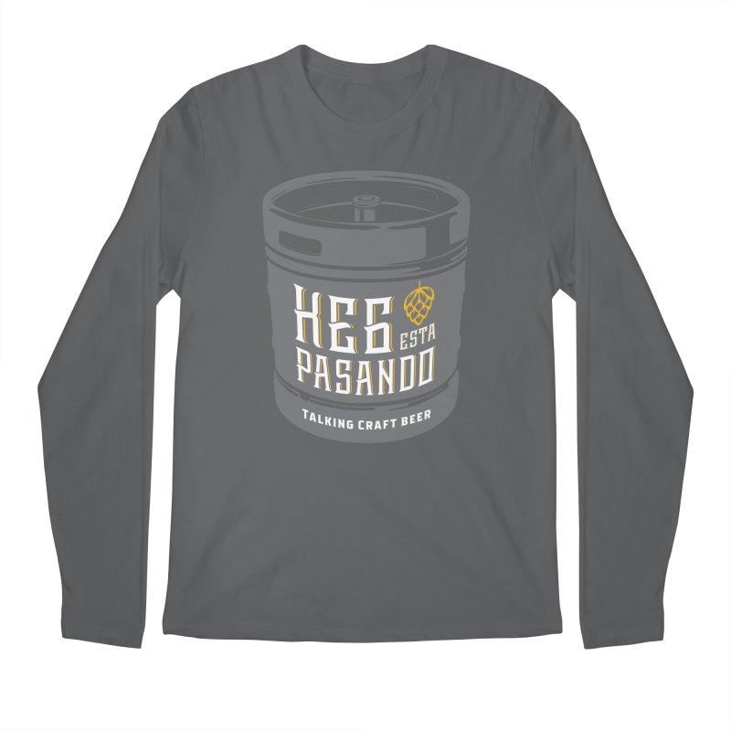 Kept keg Tagline Men's Regular Longsleeve T-Shirt by Talking Craft Beer Shop