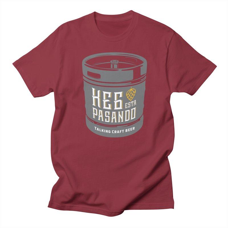 Kept keg Tagline Men's Regular T-Shirt by Talking Craft Beer Shop