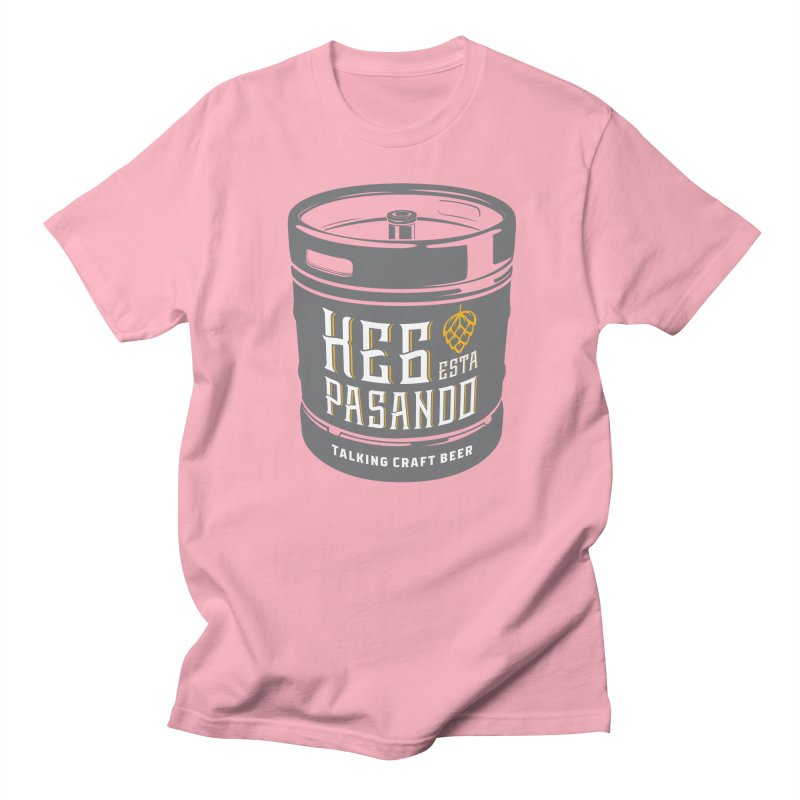 Kept keg Tagline Women's Regular Unisex T-Shirt by Talking Craft Beer Shop