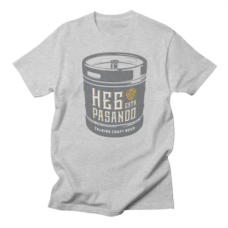 Kept keg Tagline Women's Regular Unisex T-Shirt by Talking Craft Beer Shop