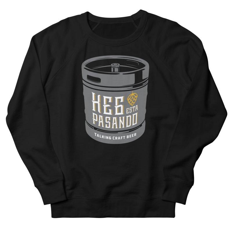 Kept keg Tagline Men's French Terry Sweatshirt by Talking Craft Beer Shop