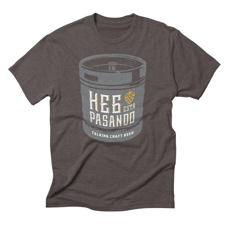 Kept keg Tagline Men's Triblend T-Shirt by Talking Craft Beer Shop