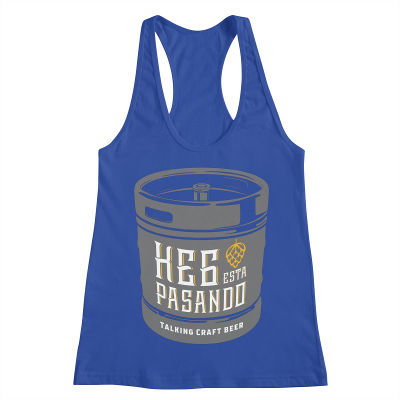 Kept keg Tagline Women's Racerback Tank by Talking Craft Beer Shop