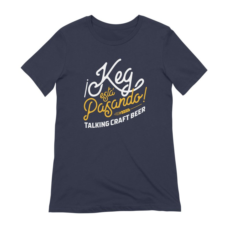 Kept Tagline (White) Women's Extra Soft T-Shirt by Talking Craft Beer Shop