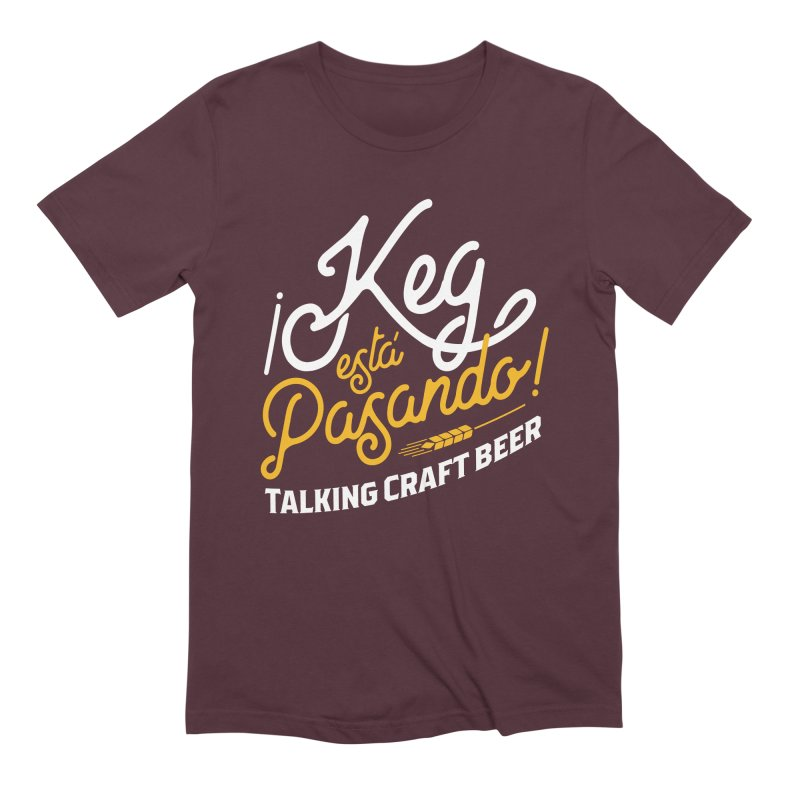 Kept Tagline (White) Men's Extra Soft T-Shirt by Talking Craft Beer Shop