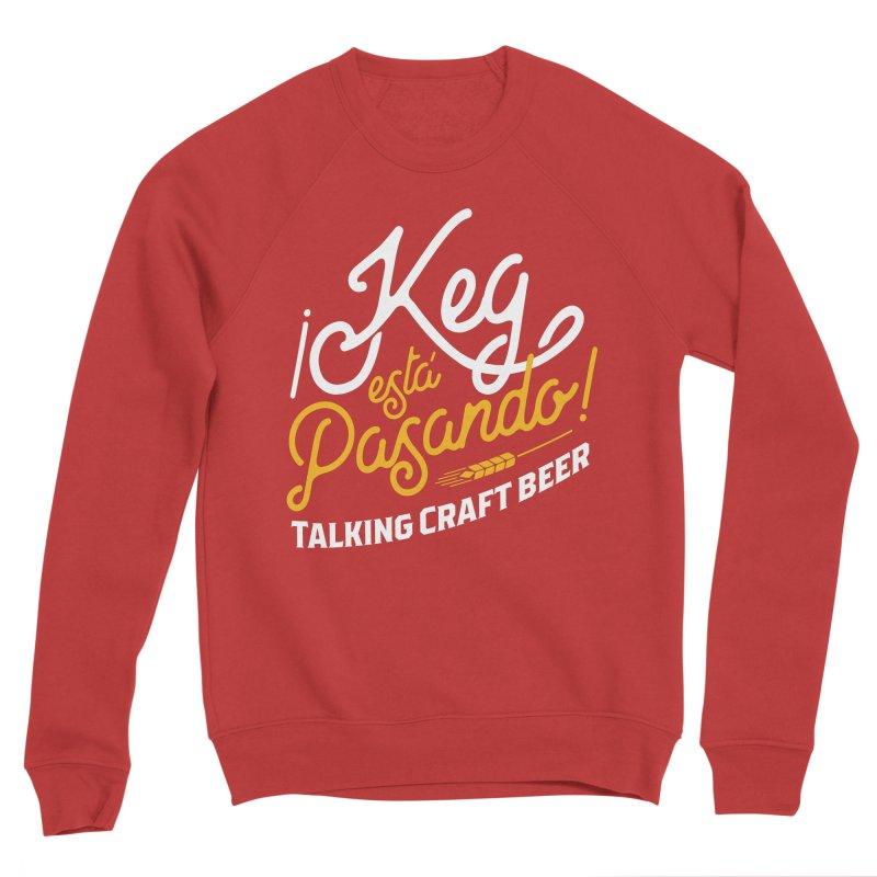 Kept Tagline (White) Women's Sponge Fleece Sweatshirt by Talking Craft Beer Shop