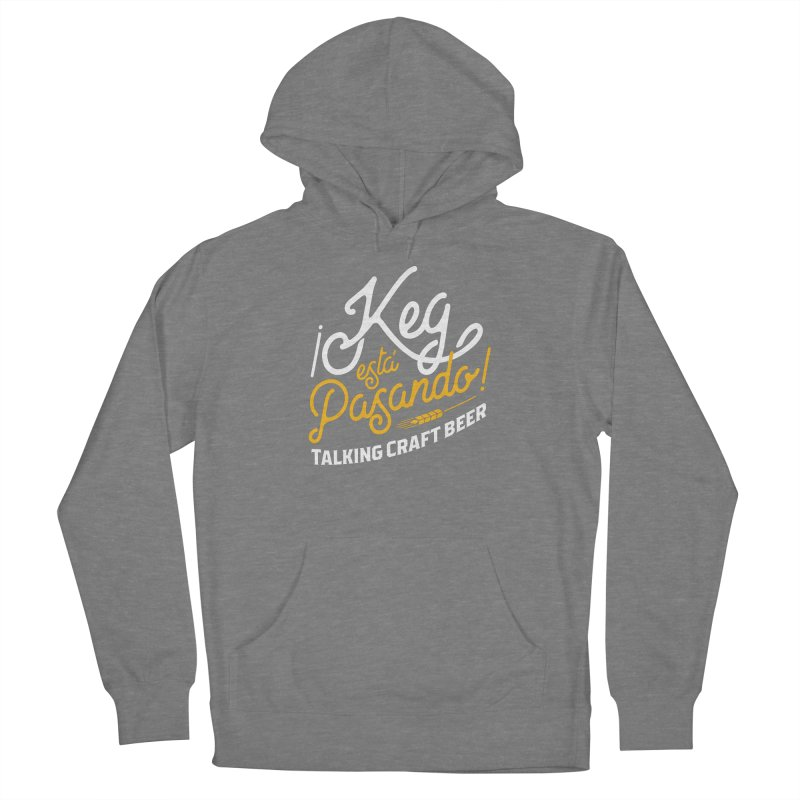 Kept Tagline (White) Women's Pullover Hoody by Talking Craft Beer Shop