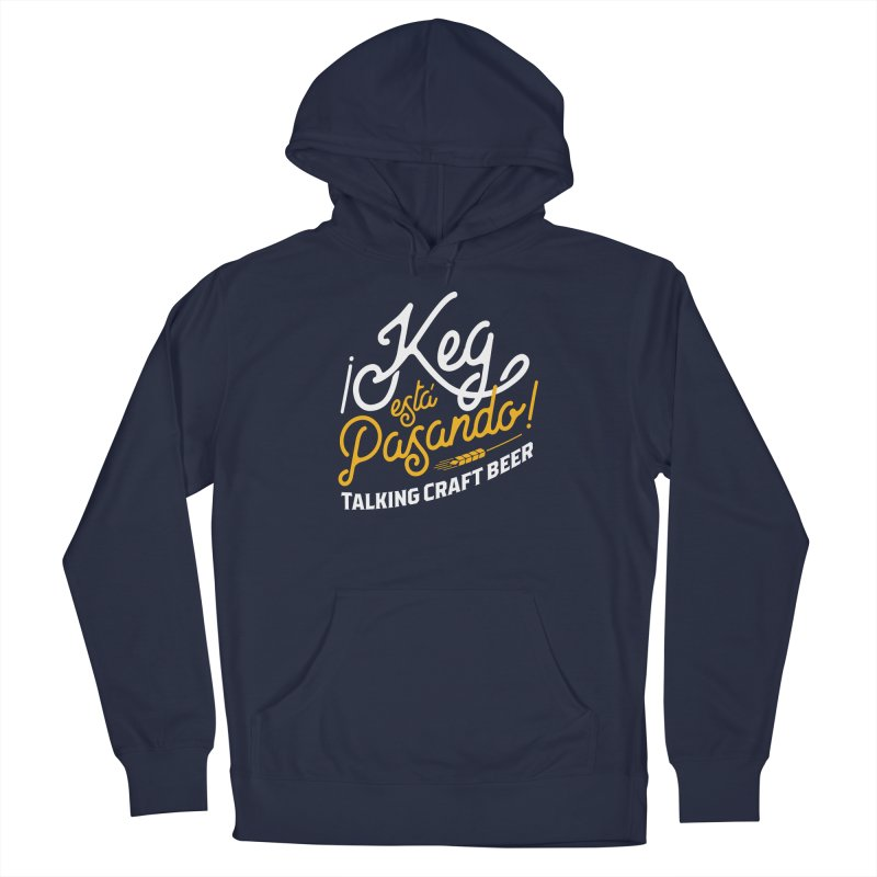 Kept Tagline (White) Men's Pullover Hoody by Talking Craft Beer Shop