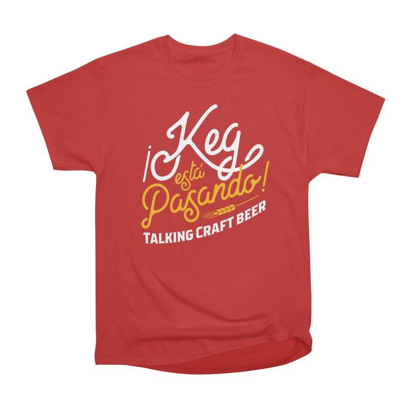 Kept Tagline (White) Men's Heavyweight T-Shirt by Talking Craft Beer Shop