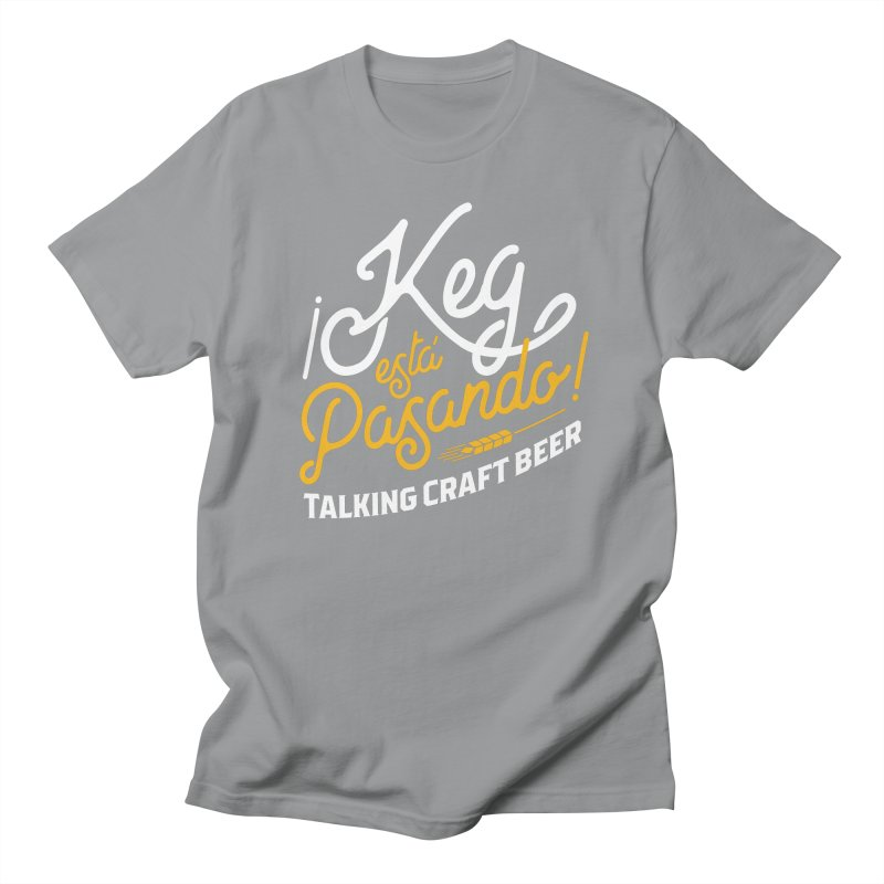 Kept Tagline (White) Men's T-Shirt by Talking Craft Beer Shop