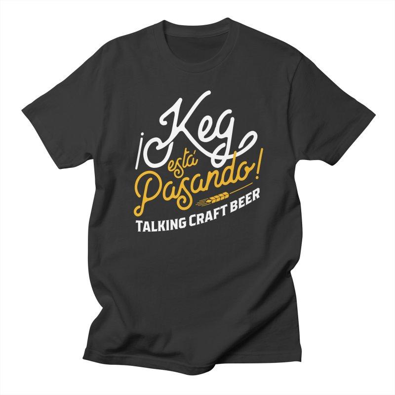 Kept Tagline (White) Women's Regular Unisex T-Shirt by Talking Craft Beer Shop