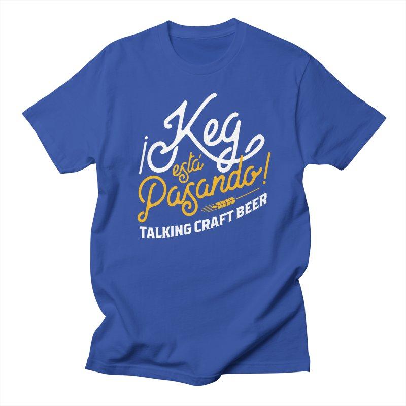 Kept Tagline (White) Men's Regular T-Shirt by Talking Craft Beer Shop