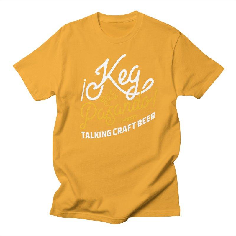 Kept Tagline (White) Men's T-Shirt by Talking Craft Beer Shop