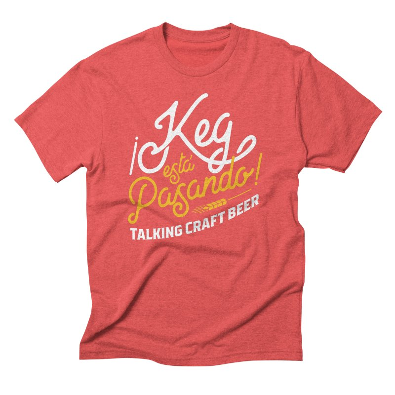 Kept Tagline (White) Men's Triblend T-Shirt by Talking Craft Beer Shop