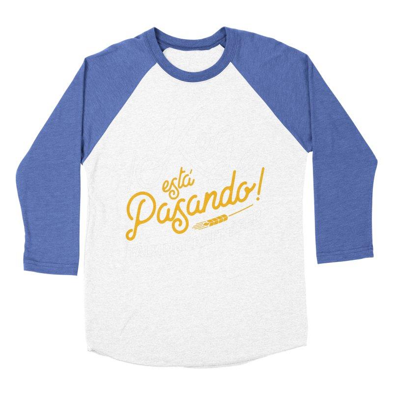 Kept Tagline (White) Women's Baseball Triblend Longsleeve T-Shirt by Talking Craft Beer Shop